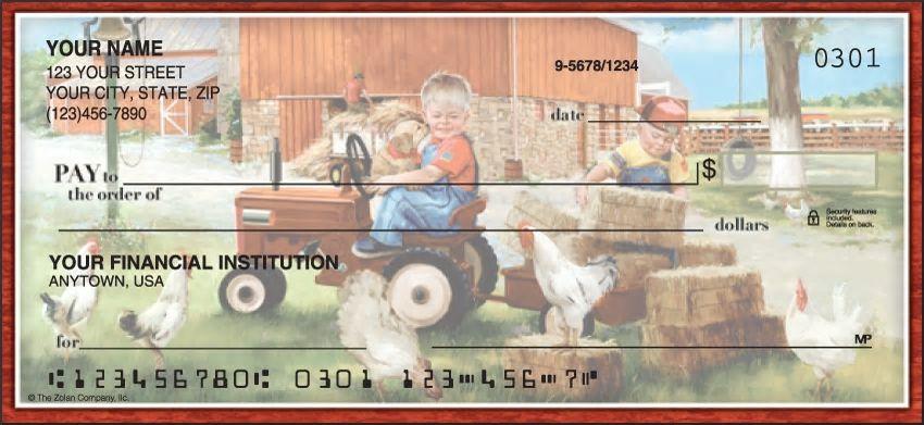 Barnyard Buddies Personal Checks