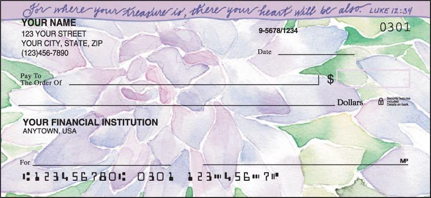 Beautiful Blessings Personal Checks
