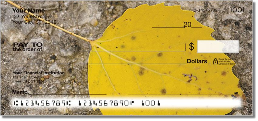 Autumn Leaves Personal Checks