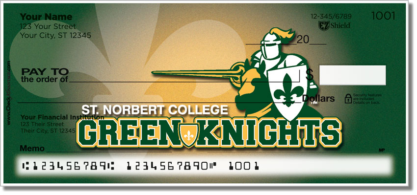 St. Norbert Athletic Personal Checks