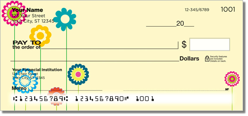 Flower Child Personal Checks