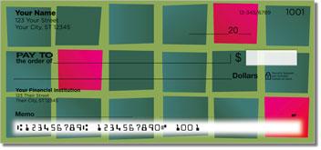 Colorful Tile Personalized Checks
