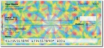 Kaleidoscope Personalized Checks