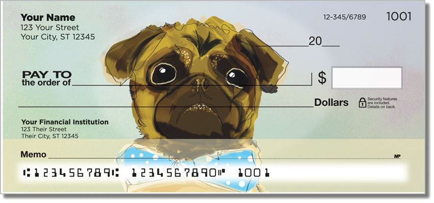 Dog Painting Checks