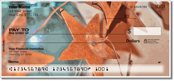 Rustic Star Personalized Checks