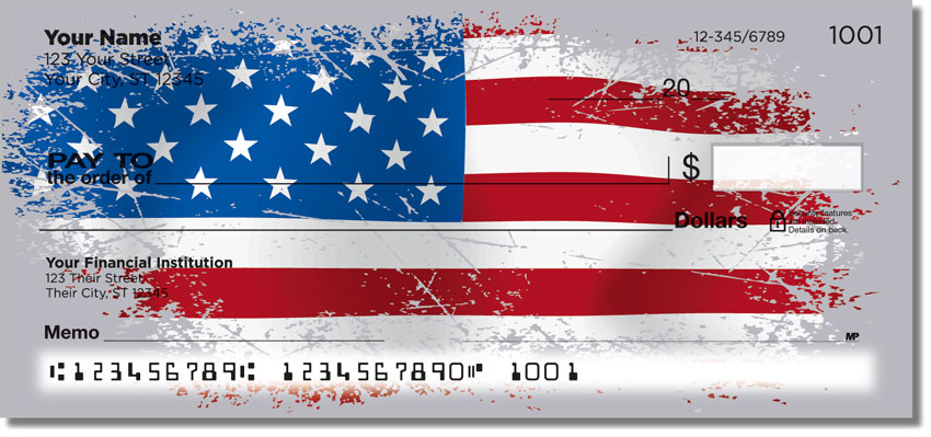 Flags of the World Personal Checks