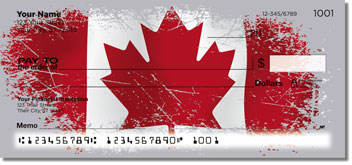 Flags of the World Personalized Checks