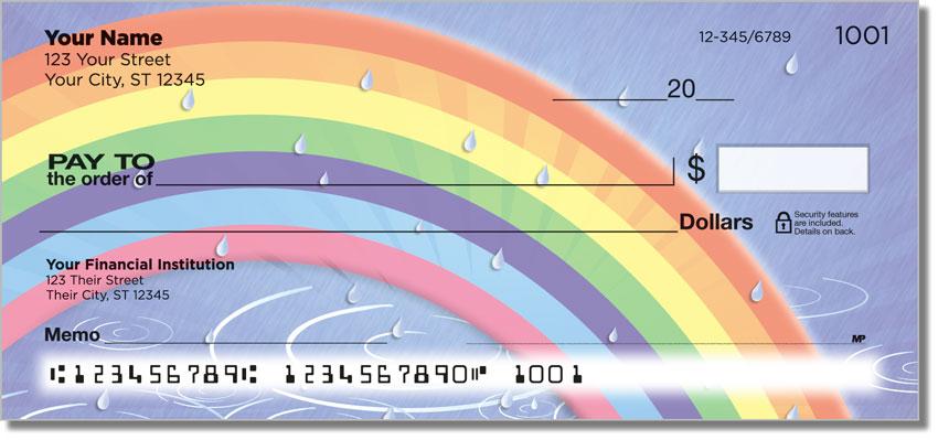 Rainbow Personal Checks
