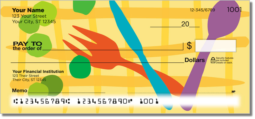In the Kitchen Personal Checks