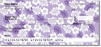 Hawaiian Print Theme Checks