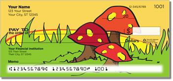 Woodland Toadstool Design Checks