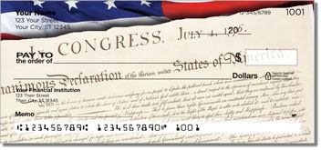 Words of Freedom Personalized Checks