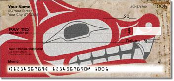 Totem Pole Personalized Checks
