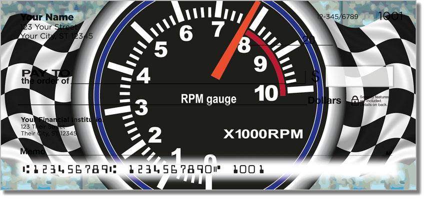 Racecar Personal Checks