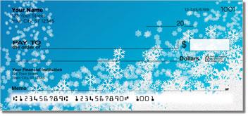 Holiday Snowflake Personalized Checks