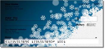Holiday Snowflake Theme Checks