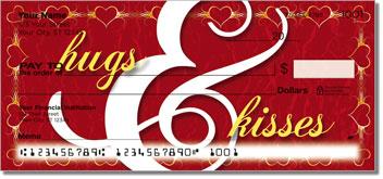 Hugs & Kisses Theme Checks