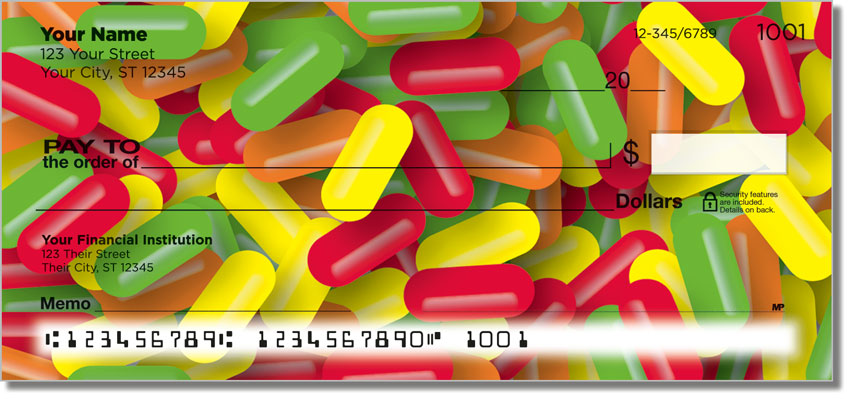 Sweet Candy Personal Checks