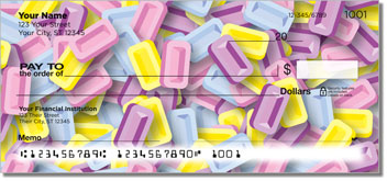 Sweet Candy Personalized Checks