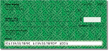 Patterns in Green Personalized Checks