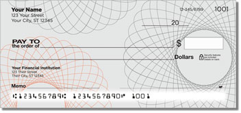 Spiral Personalized Checks
