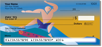 Extreme Sports Personalized Checks