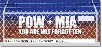 POW MIA Personalized Checks
