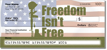 Price of Freedom Personalized Checks