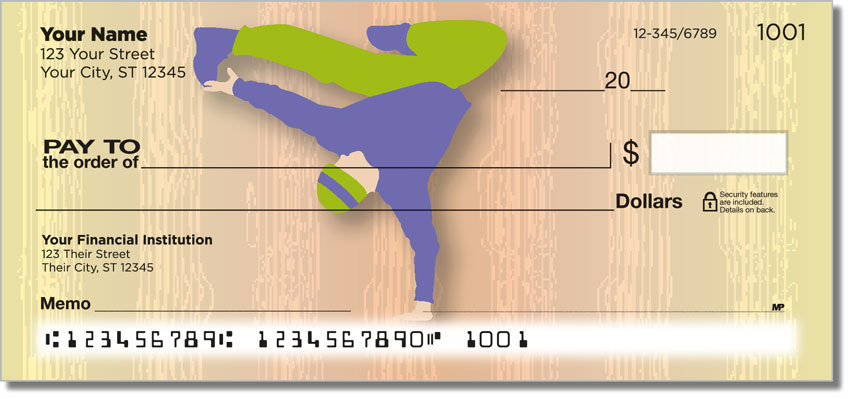 Break Dancing Personal Checks