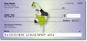 Break Dancing Theme Checks