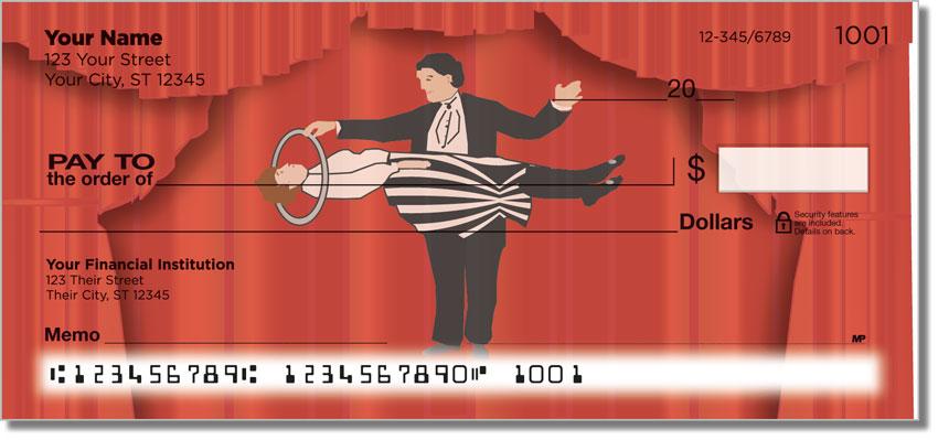 Magic Trick Personal Checks