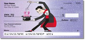 Magic Trick Personalized Checks