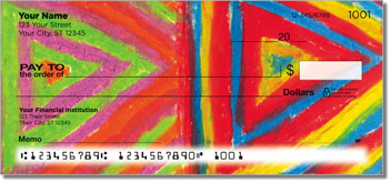 Color Study Personalized Checks