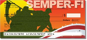 Marine Corps Personalized Checks