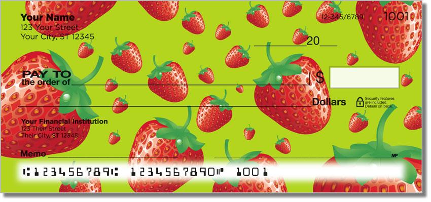 Summer Fruit Personal Checks
