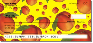 Summer Fruit Personalized Checks