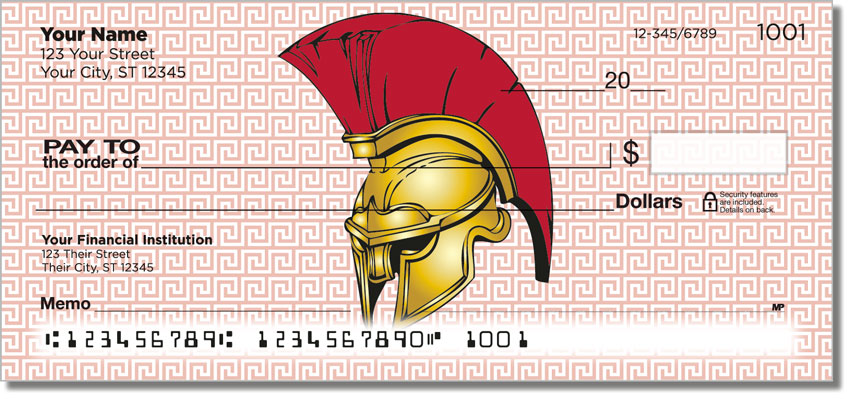 Roman Empire Personal Checks