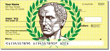 Roman Empire Personalized Checks