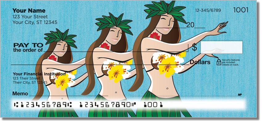Hawaii Vacation Personal Checks