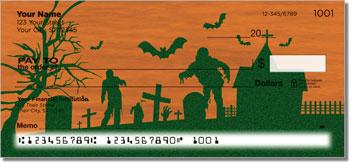 Halloween Graveyard Theme Checks