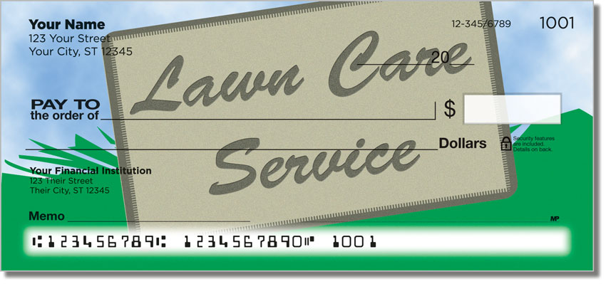 Lawn Care Personal Checks