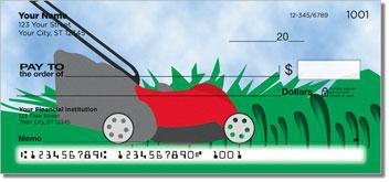 Lawn Care Personalized Checks