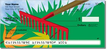 Lawn Care Theme Checks