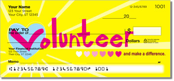Volunteer Personalized Checks