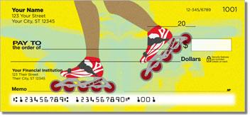 Inline Skating Personalized Checks