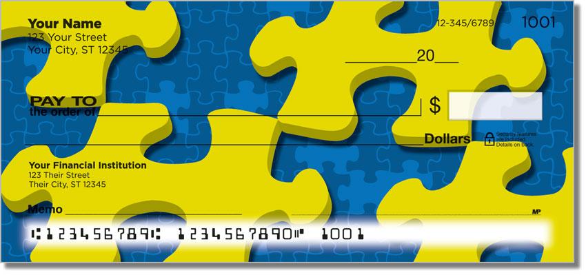 Jigsaw Puzzle Personal Checks