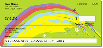 Rainbow Sweep Theme Checks