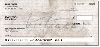 Ballerina Personalized Checks