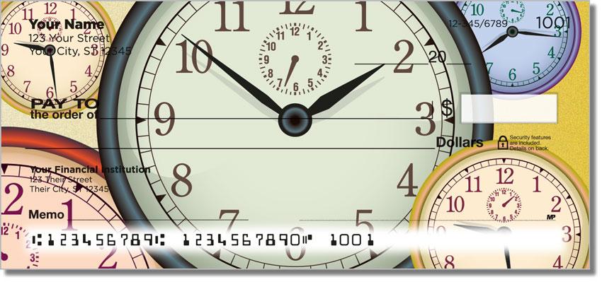 Clock Face Personal Checks