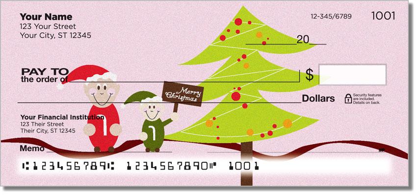 Jolly Elf Personal Checks